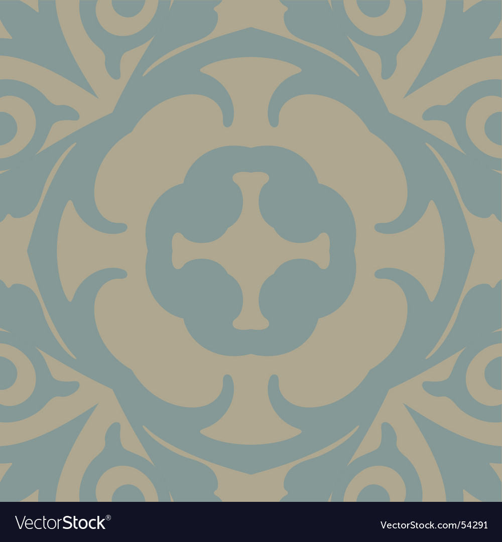 Floral wallpaper pattern vector   Price: 1 Credit (USD $1)