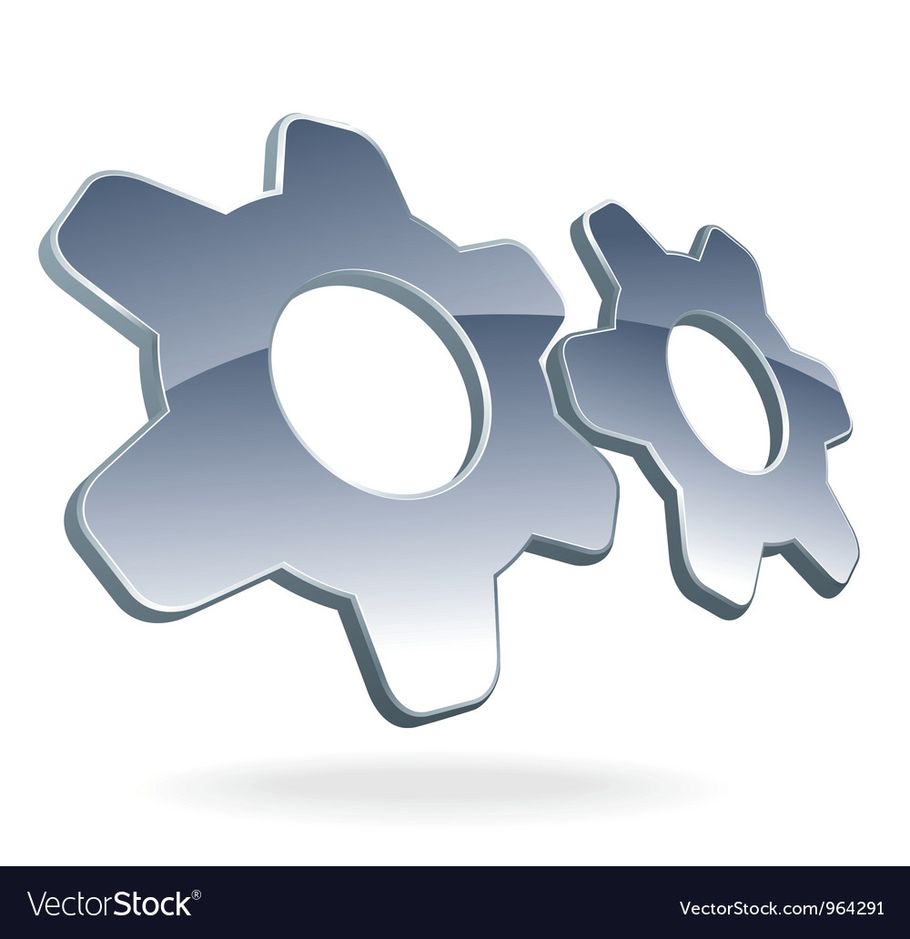 Gear cog logo vector | Price: 1 Credit (USD $1)