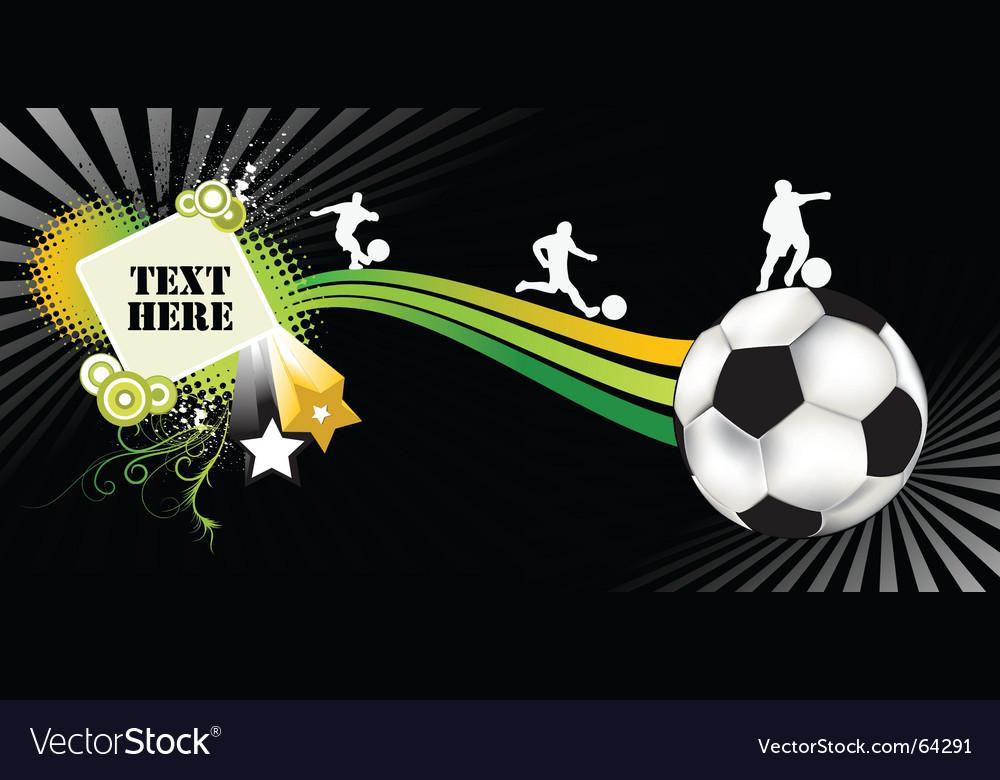 Soccer black vector | Price: 1 Credit (USD $1)