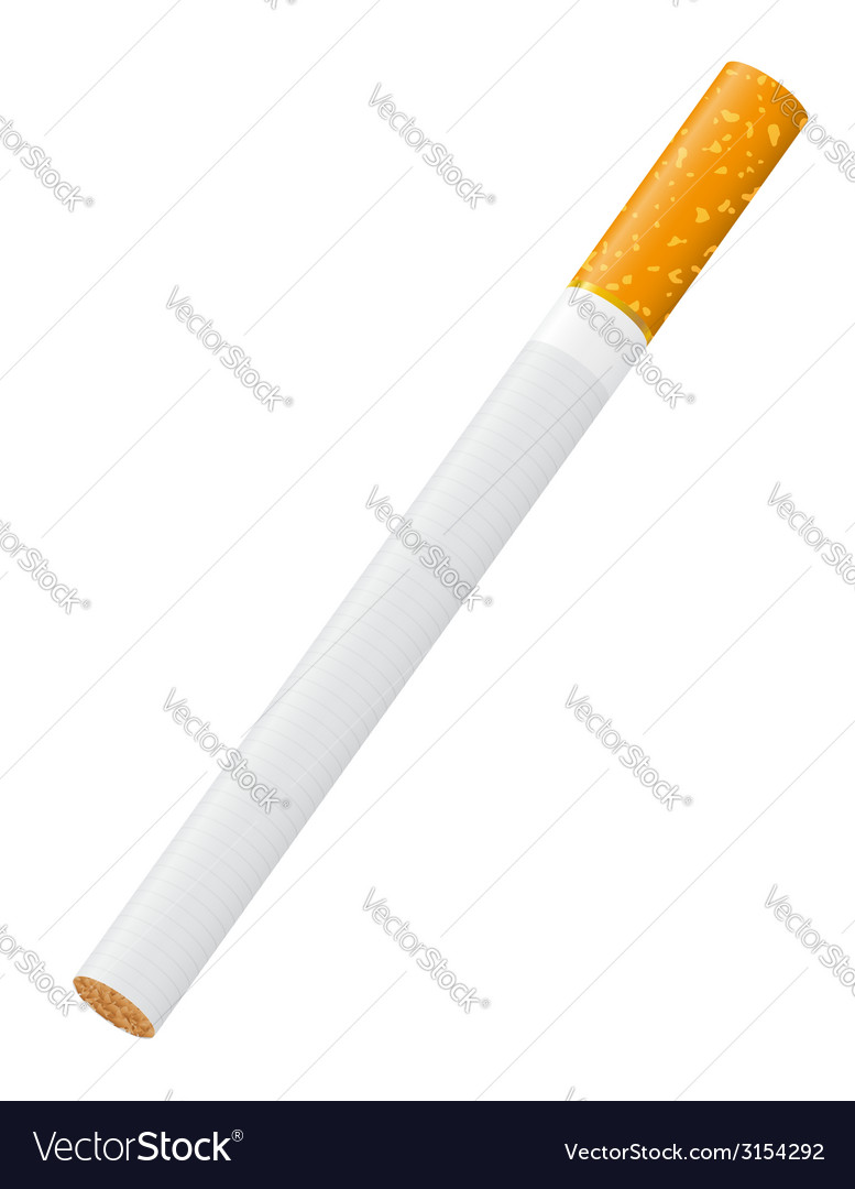 Cigarette 01 vector | Price: 1 Credit (USD $1)