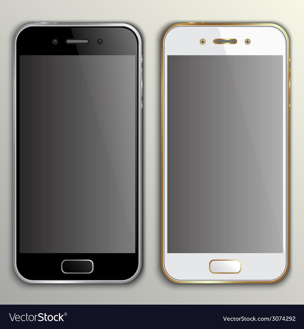 Realistic phone mockup vector   Price: 1 Credit (USD $1)