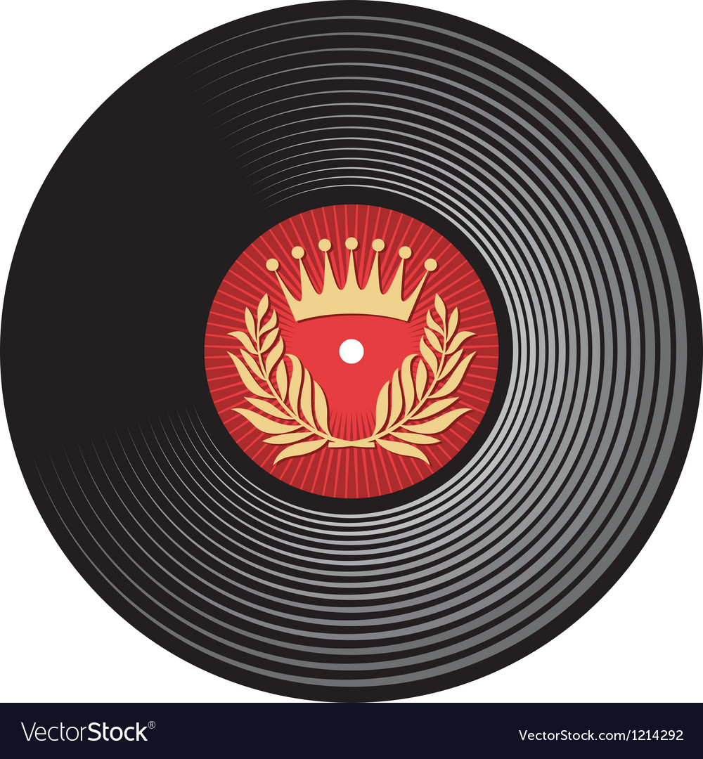 Vinyl disc vector | Price: 3 Credit (USD $3)