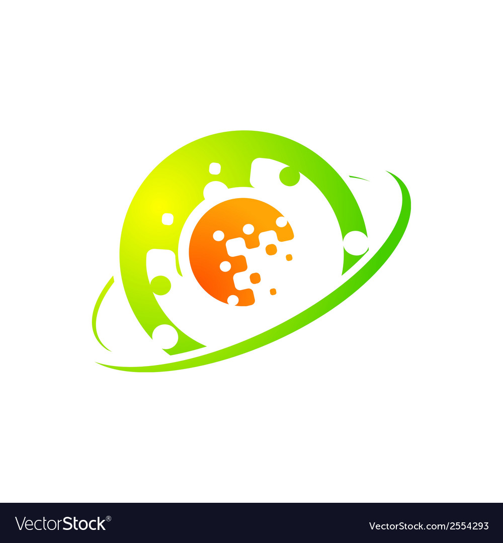Abstract sign technology vector | Price: 1 Credit (USD $1)