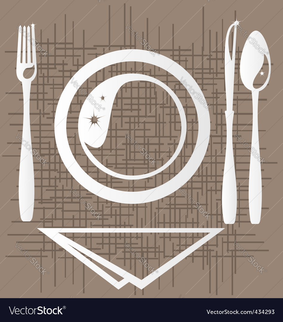 Dining vector | Price: 1 Credit (USD $1)