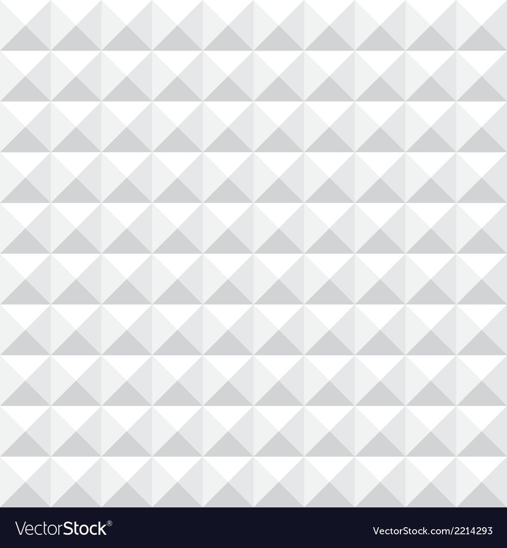 Geometric white seamless pattern vector   Price: 1 Credit (USD $1)