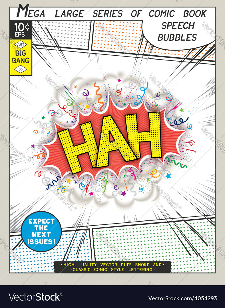 Series comics speech bubble vector | Price: 1 Credit (USD $1)