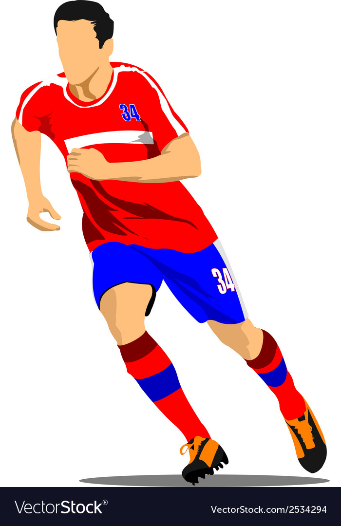 Al 0942 soccer 03 vector | Price: 1 Credit (USD $1)