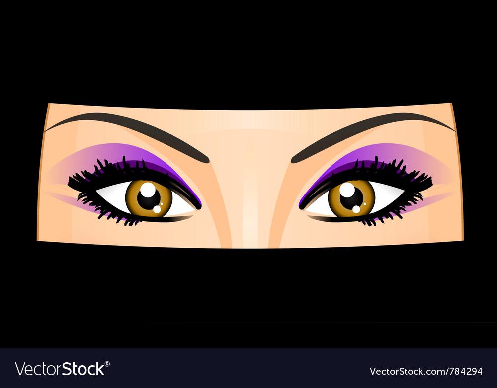 Arab woman vector | Price: 1 Credit (USD $1)