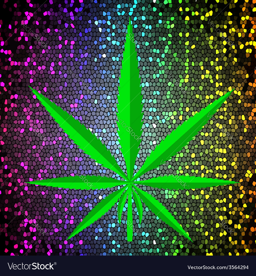 Cannabis background vector | Price: 3 Credit (USD $3)
