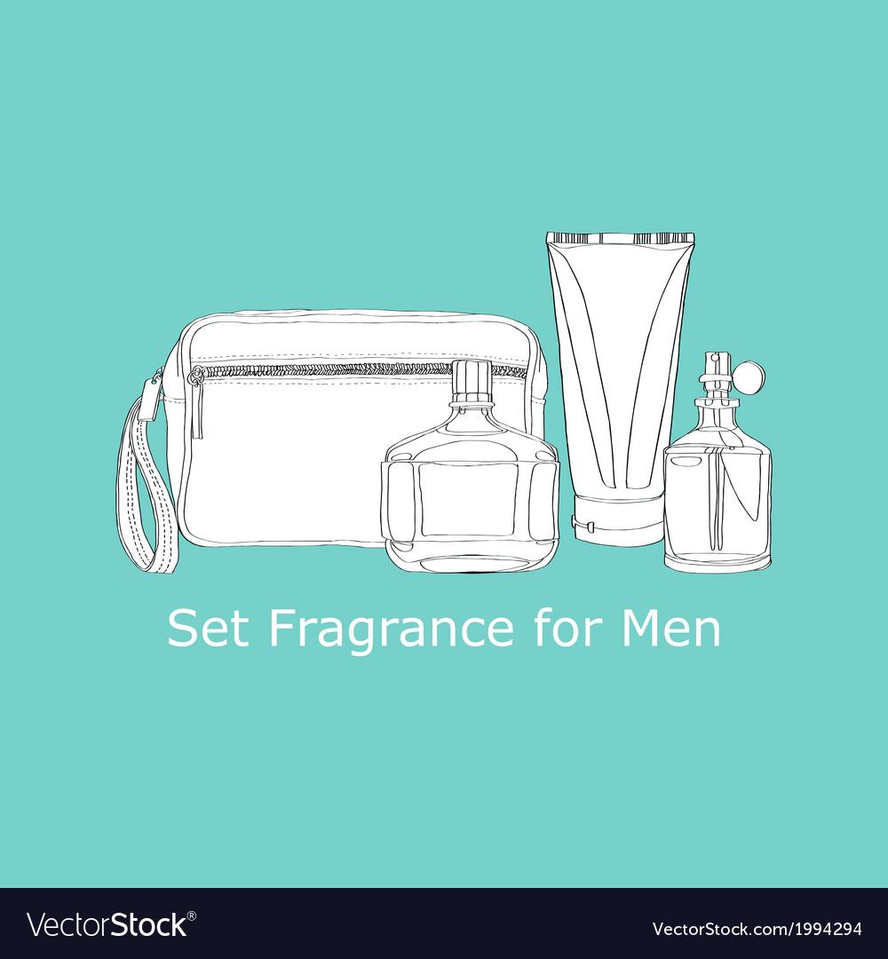 Set fragrance for men vector | Price: 1 Credit (USD $1)
