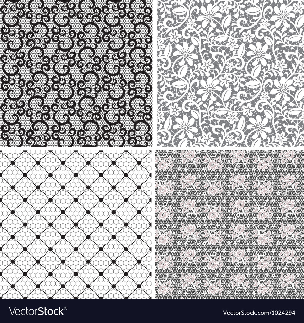 Set of lace 2 vector | Price: 1 Credit (USD $1)