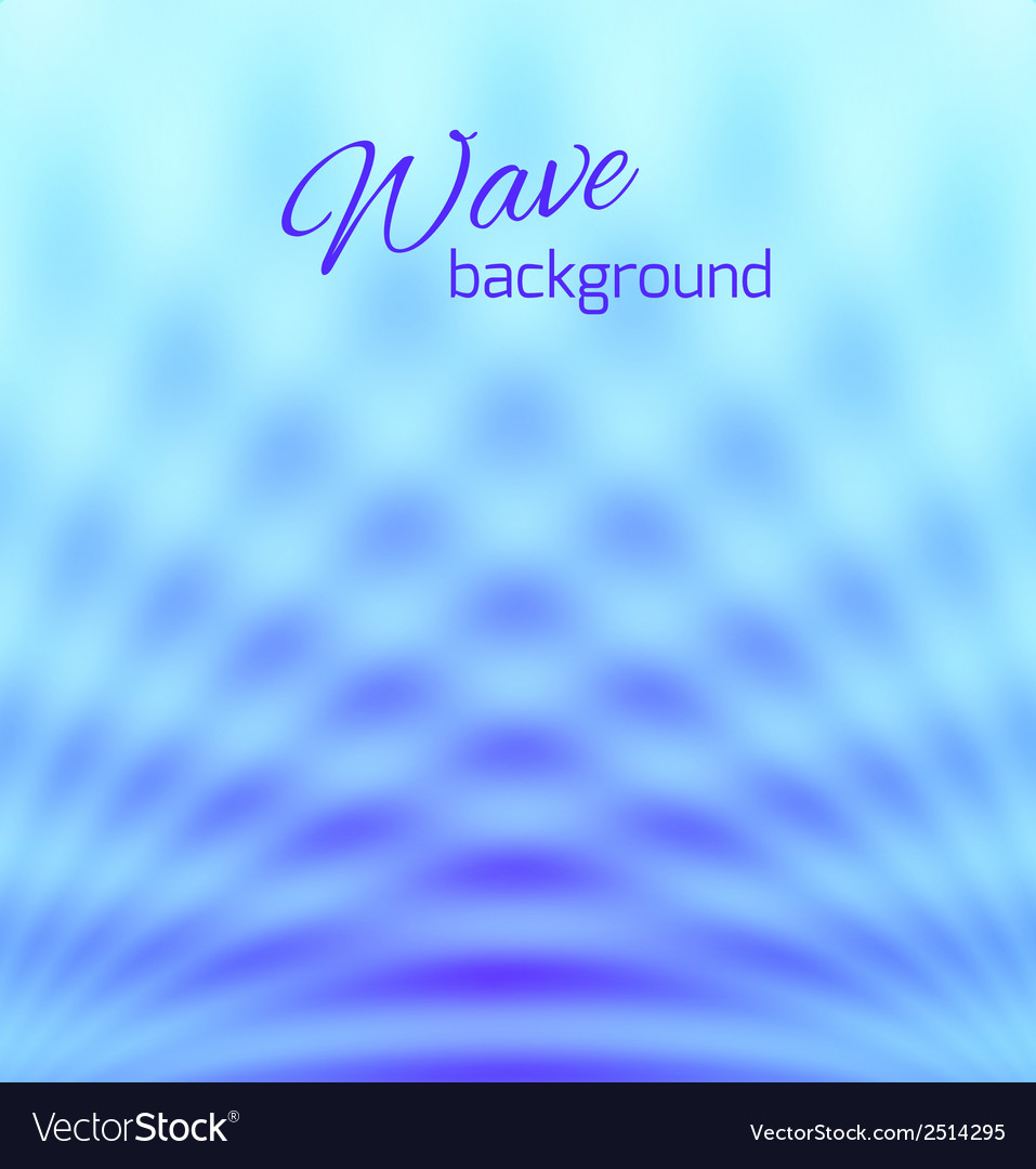 Blue abstract smooth light background vector | Price: 1 Credit (USD $1)