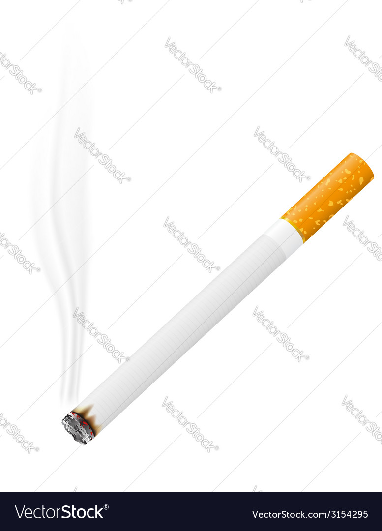 Cigarette 02 vector | Price: 1 Credit (USD $1)
