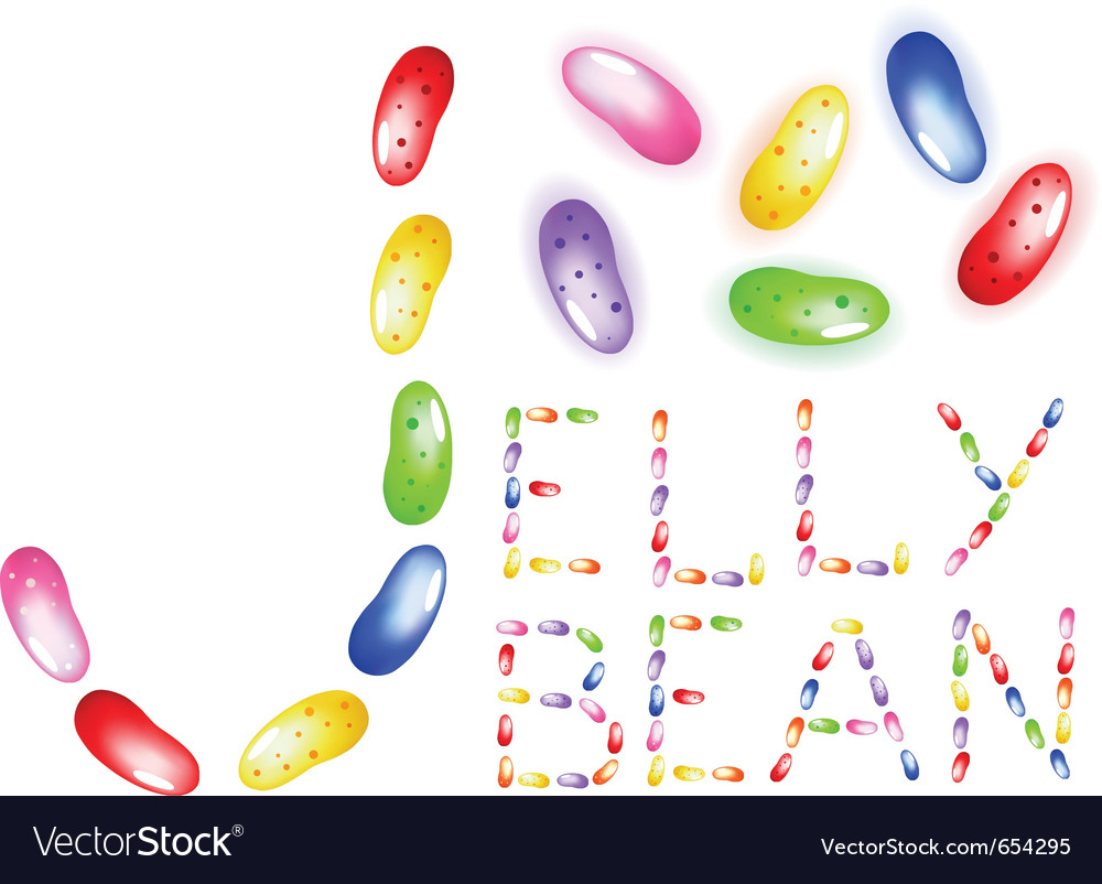 Jelly beans vector | Price: 1 Credit (USD $1)