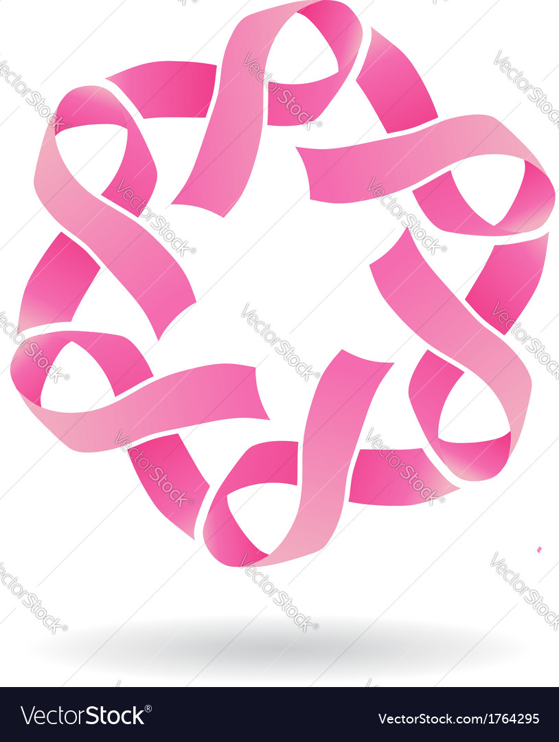 Pink star logo vector | Price: 1 Credit (USD $1)