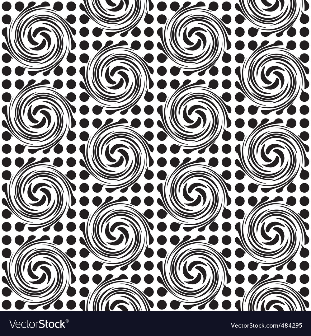 Spot twirl background vector | Price: 1 Credit (USD $1)
