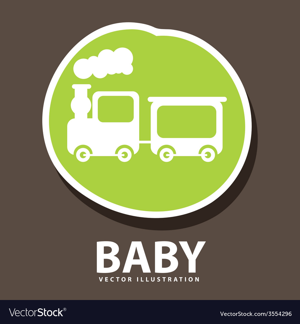 Baby icon design vector | Price: 1 Credit (USD $1)