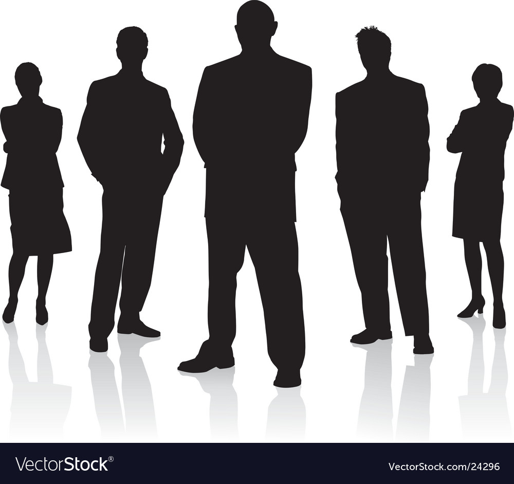 Business people team vector | Price: 1 Credit (USD $1)