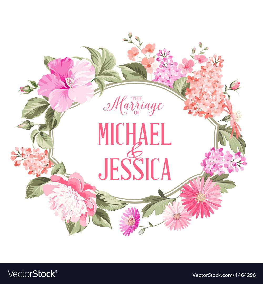 Marriage invitation vector | Price: 1 Credit (USD $1)