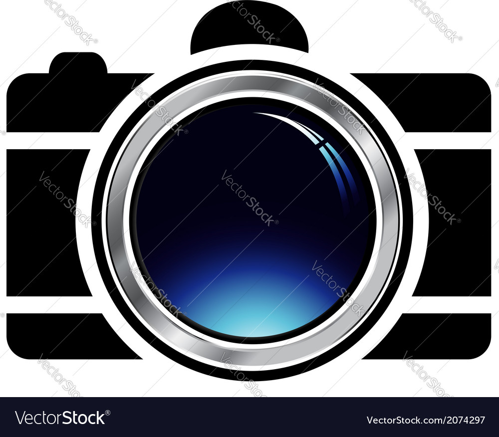 Digital camera- photography logo vector | Price: 1 Credit (USD $1)