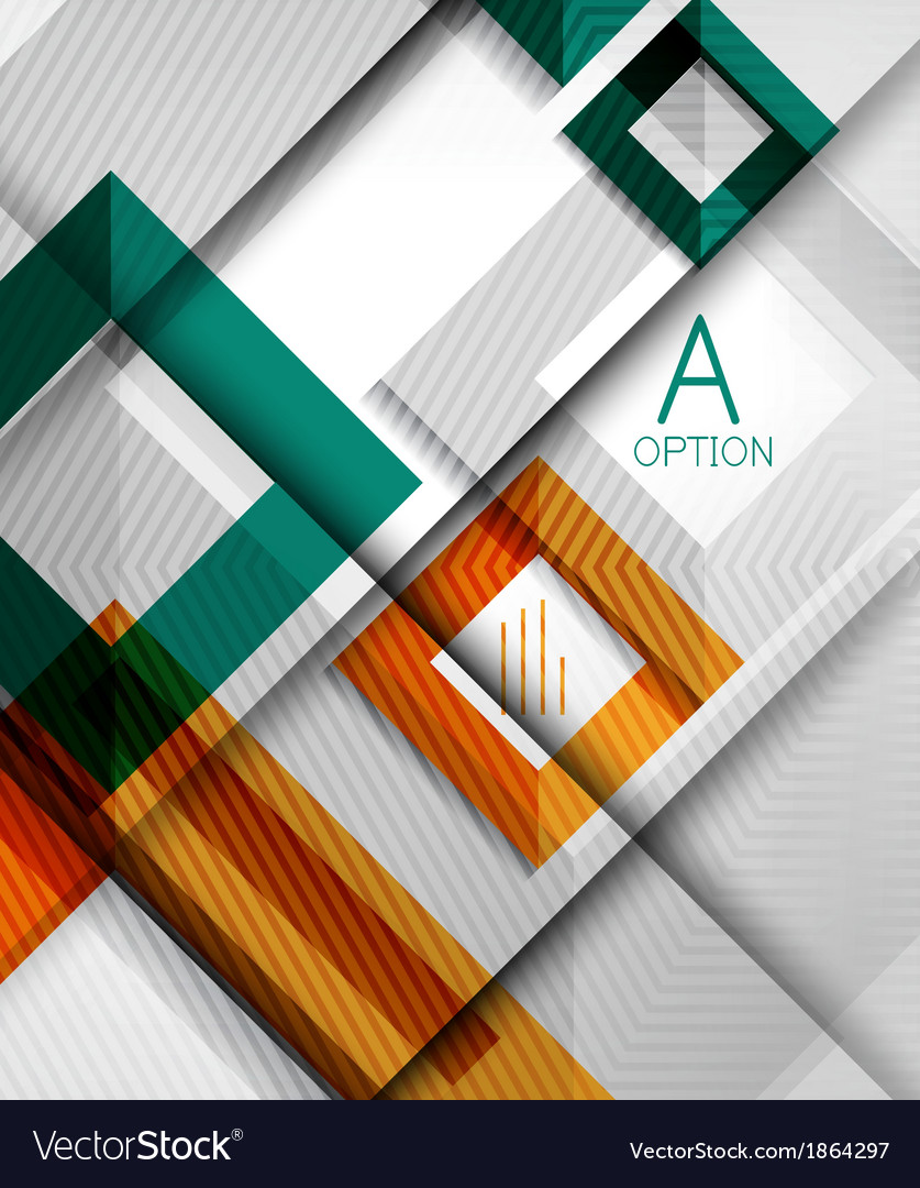 Infographic abstract background vector | Price: 1 Credit (USD $1)