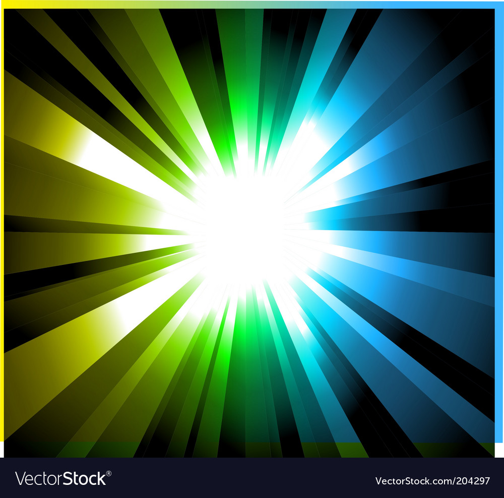 Light explosion background vector | Price: 3 Credit (USD $3)