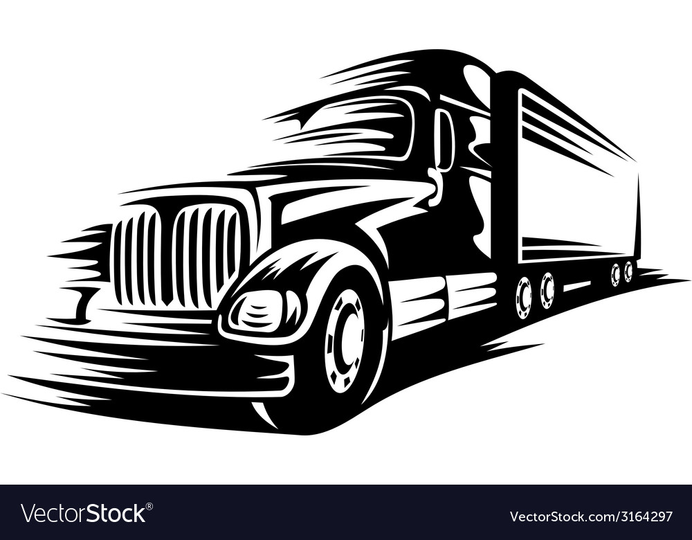 Moving truck vector | Price: 1 Credit (USD $1)