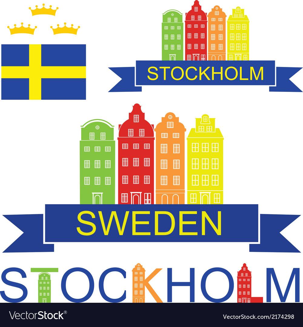 Sweden vector | Price: 1 Credit (USD $1)