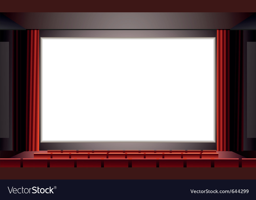 Cinema vector | Price: 1 Credit (USD $1)