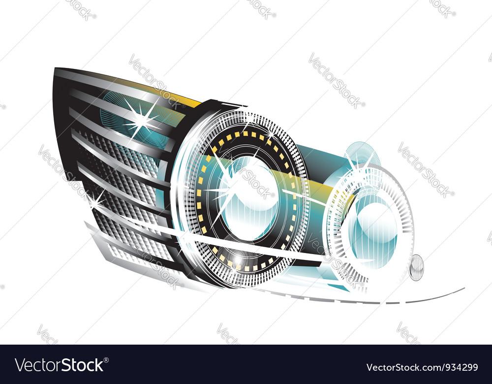 Fancy lights vector | Price: 1 Credit (USD $1)