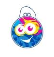 Childrens color bag vector