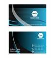 - business card set vector