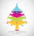 Merry christmas happy new year vector