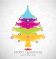 Merry christmas happy new year vector