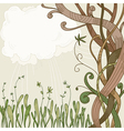 Abstract fantasy tree vector