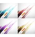 Colorful straight lines background vector
