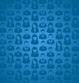 Social media user seamless pattern vector