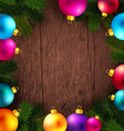 Bright and colorful winter holidays background vector