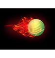 Tennis ball vector