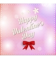 Valentines day vintage lettering background vector
