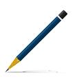 Blue pencil vector
