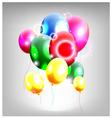 Balloons decoration for you design vector