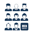 Men icon design vector