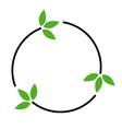Eco friendly logo concept vector