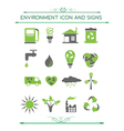Environment and eco related symbols vector
