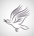 Crow logo vector