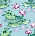Lotus seamless vector