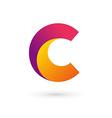 Letter c logo icon design template elements vector