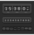 Countdown board vector