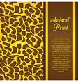 Cheetah print vector